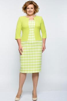 Платье Elga 01-544 лимонный