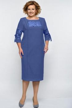Платье Elga 01-545 синий