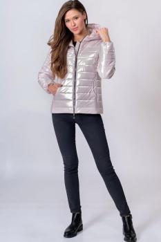 Куртка Elga 41-511 молочный оттенок