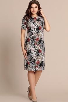 Платье Elza 2742 Цветы