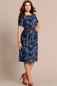 Платье Elza 2757 Синий