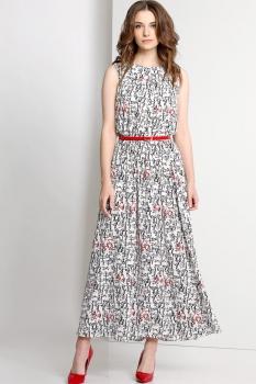Платье Эола Стиль 1340 светлые тона
