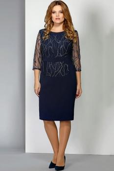 Платье Эола Стиль 1387 синий
