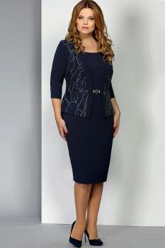 Платье Эола Стиль 1388 синий