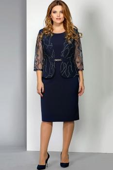 Платье Эола Стиль 1389 синий