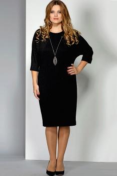 Платье Эола Стиль 1393-1 черный