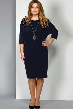 Платье Эола Стиль 1393 синий
