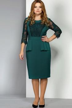 Платье Эола Стиль 1397 зеленый
