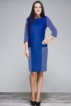 Платье Erika Style 386-2 василек