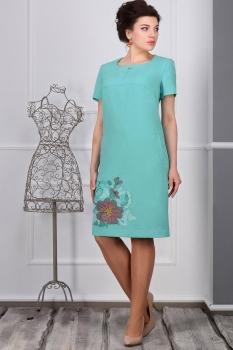Платье Erika Style 423 мята