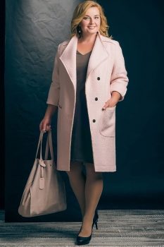 Пальто Erika Style 434 пудра