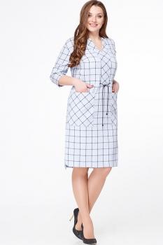Платье Erika Style 467-1 светлые тона