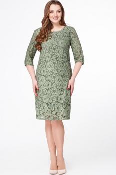 Платье Erika Style 510-2 зеленый
