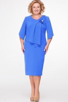 Платье Erika Style 526-3 василек