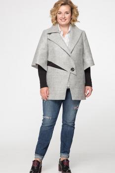 Пальто Erika Style 530-1 серый