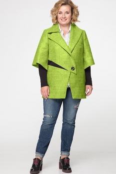 Пальто Erika Style 530-2 фисташка
