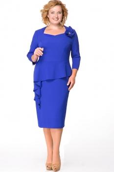 Платье Erika Style 531 василек