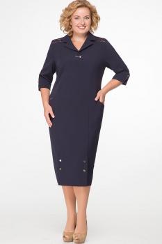 Платье Erika Style 537 синий