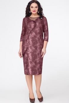 Платье Erika Style 548-1 бордо