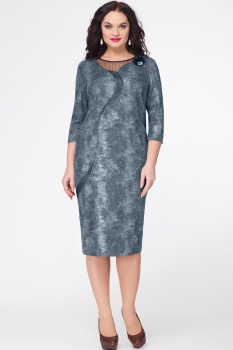 Платье Erika Style 548-3 зеленый