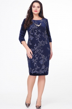 Платье Erika Style 580 синий