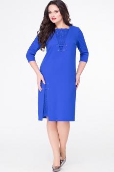 Платье Erika Style 590 василек