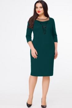 Платье Erika Style 608-2 зеленый