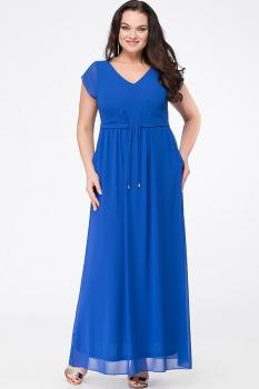 Платье Erika Style 631 василек