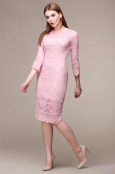 Платье My Fashion House By Elma 2582 розовый