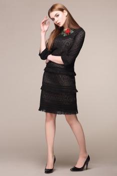 Платье My Fashion House By Elma 2583 черный
