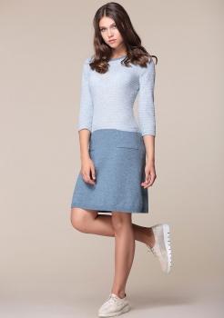 Платье My Fashion House By Elma 2601-1 голубой