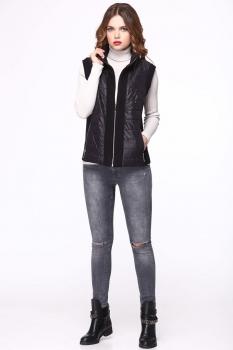 Жилет My Fashion House By Elma 3354 черный