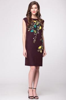Платье Faufilure 147С-2 коричневый