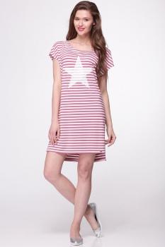 Платье Faufilure 292С-1 бледно-розовый