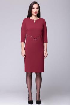 Платье Faufilure 358С-2 бордо