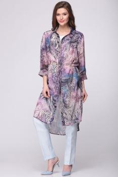 Блузка Faufilure 370С фиолет