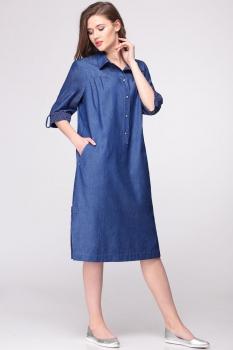 Платье Faufilure 375С-4 джинс