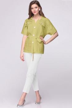 Блузка Faufilure 389С светло-зеленый