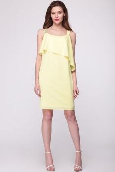 Платье Faufilure 408С оттенки желтого