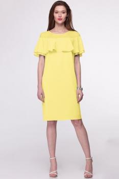 Платье Faufilure 409С лимон