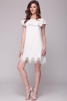 Платье Faufilure 413С светлые тона
