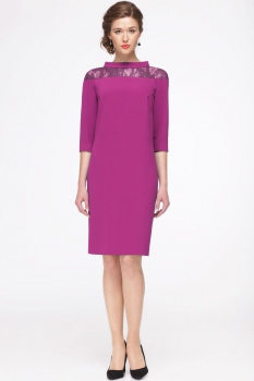 Платье Faufilure 417С фуксия