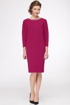 Платье Faufilure 424С малиновый