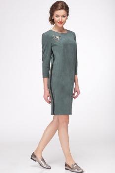 Платье Faufilure 425С-3 темные тона