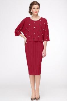 Платье Faufilure 435С-1 бордо