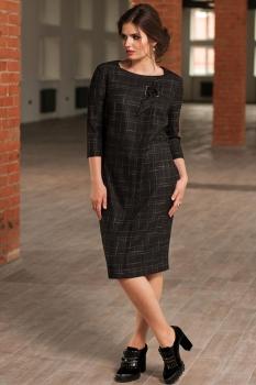 Платье Faufilure 448С клетки