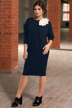 Платье Faufilure 450С-1 синий