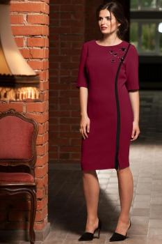 Платье Faufilure 455С бордо