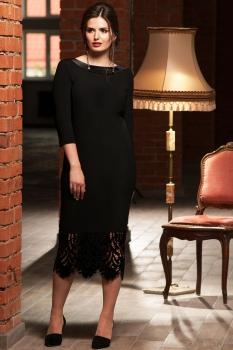 Платье Faufilure 456С черный - фото 2