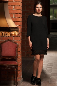 Платье Faufilure 458С черный